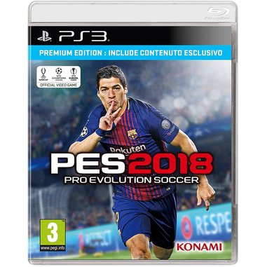 Pro Evolution Soccer 2018, PS3