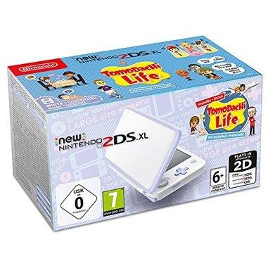 """Nintendo New 2DS XL 4.88"""" Touch screen Wi-Fi Lavanda, Bianco console da gioco portatile + Tomodachi Life"""