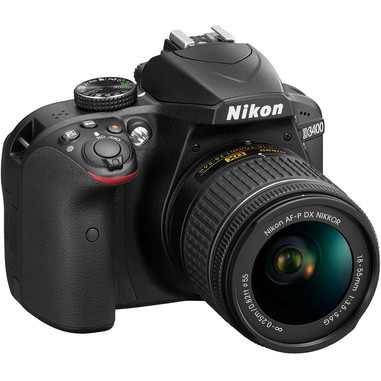 Nikon D3400 + 18-55mm DX SLR 24.2MP CMOS 6000 x 4000Pixel